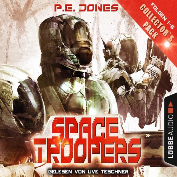 """Kleinere Parallelen zu """"Starship Troopers"""" gehören zum Genre, dennoch gehört """"Space Troopers"""" von P. E. Jones zu meinen aktuellen Science Fiction-Favoriten."""
